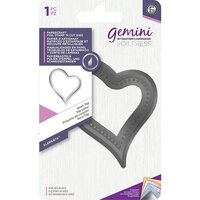 Crafter's Companion - Gemini - FoilPress - Stamp and Cut Die - Heart Tag