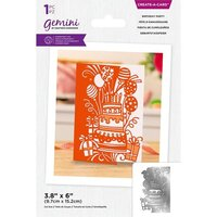 Crafter's Companion - Gemini - Create A Card - Birthday Party