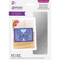 Crafter's Companion - Gemini - Create A Card - Graceful Butterfly