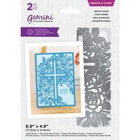 Crafter's Companion - Gemini Create A Card - Ornate Cross