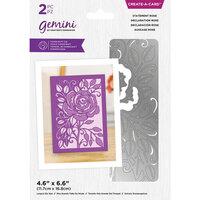 Crafter's Companion - Gemini - Create A Card - Statement Rose