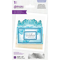 Crafter's Companion - Gemini - Die - Edgeables - Butterfly Lace
