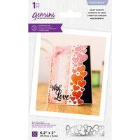 Crafter's Companion - Gemini - Die - Edgeables - Heart Confetti