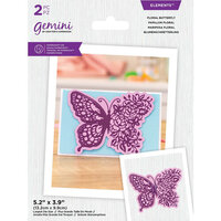 Crafter's Companion - Gemini Die Elements - Floral Butterfly