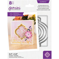 Crafter's Companion - Gemini - Elements - Dies - Stitched Moroccan Tile