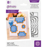 Crafter's Companion - Gemini - Elements - Dies - Stitched Ornate Flower