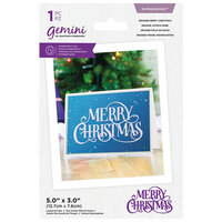 Crafter's Companion - Gemini - Expressions - Dies - Grande Merry Christmas