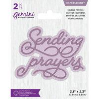 Crafter's Companion - Gemini - Dies - Core Sentiments - Sending Prayers