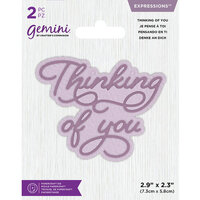 Crafter's Companion - Gemini - Dies - Core Sentiments - Thinking of you