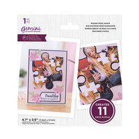 Crafter's Companion - Gemini - Die - Missing Piece Jigsaw