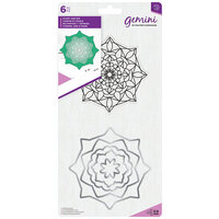 Crafter's Companion - Gemini - Die and Clear Acrylic Stamp Set - Aura