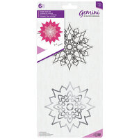 Crafter's Companion - Gemini - Die and Clear Acrylic Stamp Set - Chakra