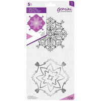 Crafter's Companion - Gemini - Die and Clear Acrylic Stamp Set - Cosmic