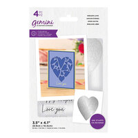 Crafter's Companion - Gemini - Stamp and Die - Endless Love