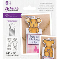 Crafter's Companion - Gemini - Stamp and Die - Enjoy The Little Things