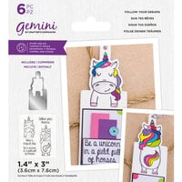 Crafter's Companion - Gemini - Stamp and Die - Follow Your Dreams