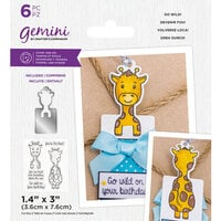 Crafter's Companion - Gemini - Stamp and Die - Go Wild!