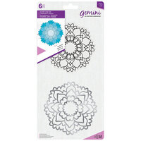 Crafter's Companion - Gemini - Die and Clear Acrylic Stamp Set - Harmony