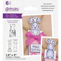Crafter's Companion - Gemini - Stamp and Die - Hoppy Birthday