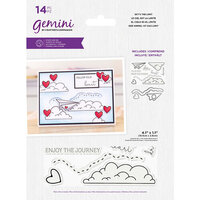 Crafter's Companion - Gemini - Stamp and Die - Sky's The Limit