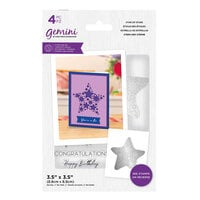 Crafter's Companion - Gemini - Stamp and Die - Star Of Stars