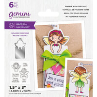 Crafter's Companion - Gemini - Stamp and Die - Sparkle With Fairy Dust