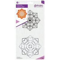 Crafter's Companion - Gemini - Die and Clear Acrylic Stamp Set - Zen