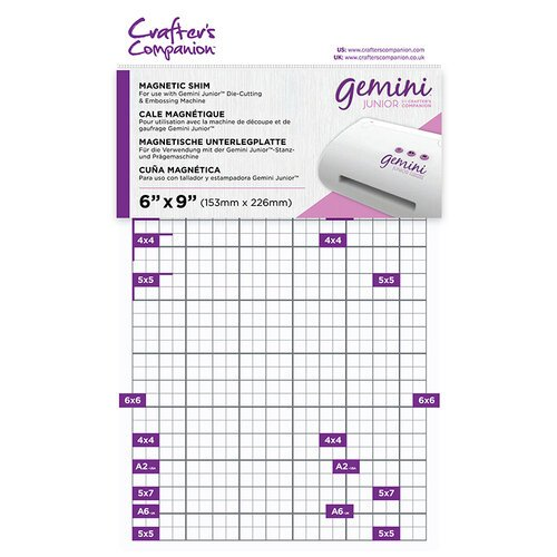 Crafter's Companion - Gemini - Junior Accessories - Magnetic Shim