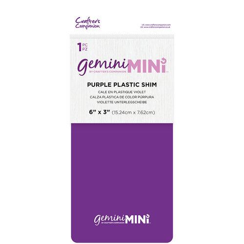 Crafter's Companion - Gemini - Mini Accessories - Purple Plastic Shim