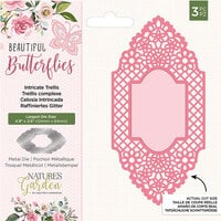 Crafter's Companion - Natures Garden Collection - Metal Dies - Intricate Trellis
