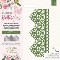 Crafter's Companion - Natures Garden Collection - Dies - Border - Intricate Floral