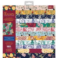 Crafter's Companion - Chinoiserie Collection - 12 x 12 Paper Pad