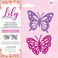 Crafter's Companion - Lily Collection - Dies - Fancy Butterflies