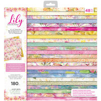 Crafter's Companion - Lily Collection - 12 x 12 Paper Pad
