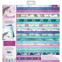 Crafter's Companion - Peacock Collection - 12 x 12 Paper Pad