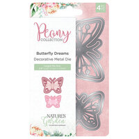 Crafter's Companion - Peony Collection - Metal Dies - Butterfly Dreams