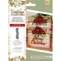 Crafter's Companion - Vintage Christmas Collection - Dies - Enchanted Ivy