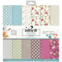 Crafter's Companion - 12 x 12 Paper Pad - Pawsitivity