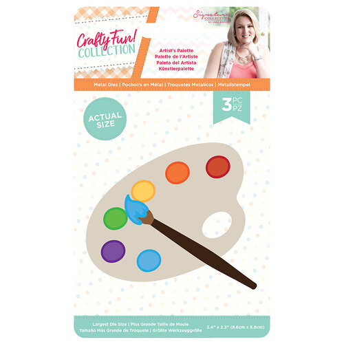 Crafter's Companion - Crafty Fun Collection - Metal Dies - Artist's Palette