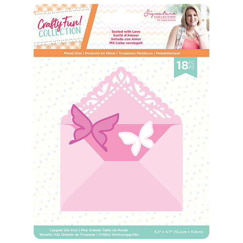 Crafter's Companion - Crafty Fun Collection - Metal Dies - Sealed with Love