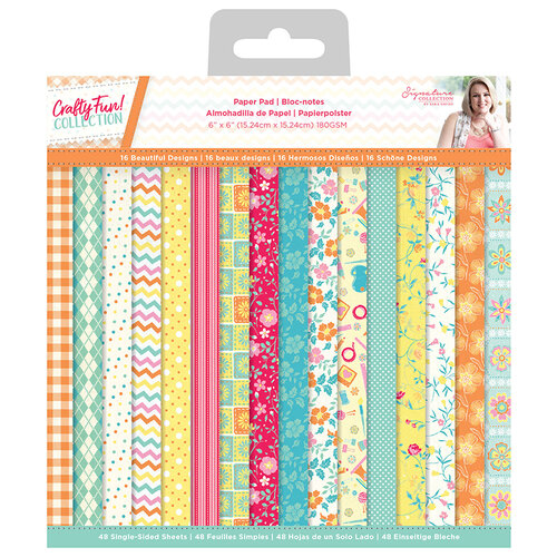 Crafter's Companion - Crafty Fun Collection - 6 x 6 Paper Pad