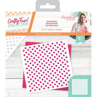 Crafter's Companion - Crafty Fun Collection - Stencil - Going Dotty