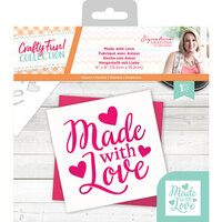 Crafter's Companion - Crafty Fun Collection - Stencil - Made with Love