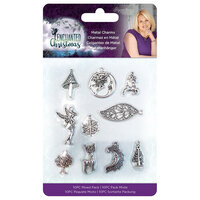 Crafter's Companion - Enchanted Christmas Collection - Embellishments - Metal Charms