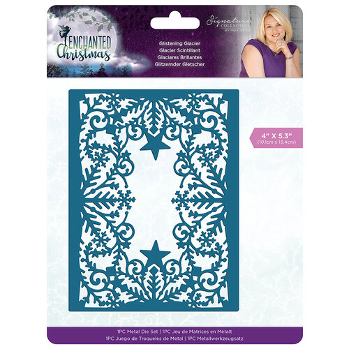 Crafter's Companion - Enchanted Christmas Collection - Metal Dies - Glistening Glacier