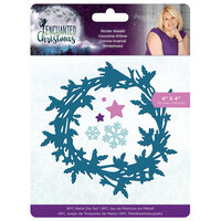 Crafter's Companion - Enchanted Christmas Collection - Metal Dies - Winter Wreath