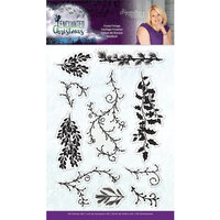 Crafter's Companion - Enchanted Christmas Collection - Clear Acrylic Stamp - Forest Foliage