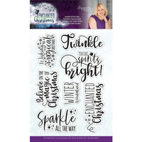 Crafter's Companion - Enchanted Christmas Collection - Clear Acrylic Stamp - Sparkle All the Way