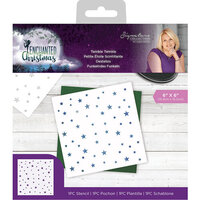 Crafter's Companion - Enchanted Christmas Collection - Stencil - Twinkle Twinkle