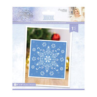 Crafter's Companion - Christmas - Glittering Snowflakes Collection - Metal Dies - Frosted Dimension